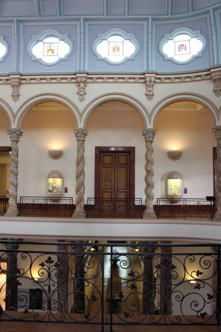 Vue étage musée Ariana genève