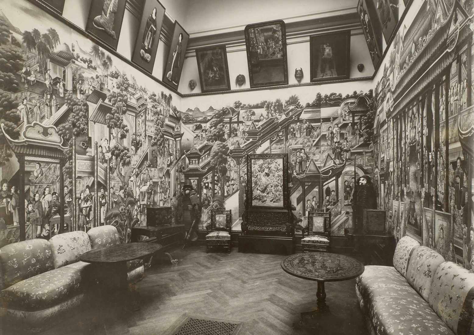 Musée Ariana, « chambre chinoise »,