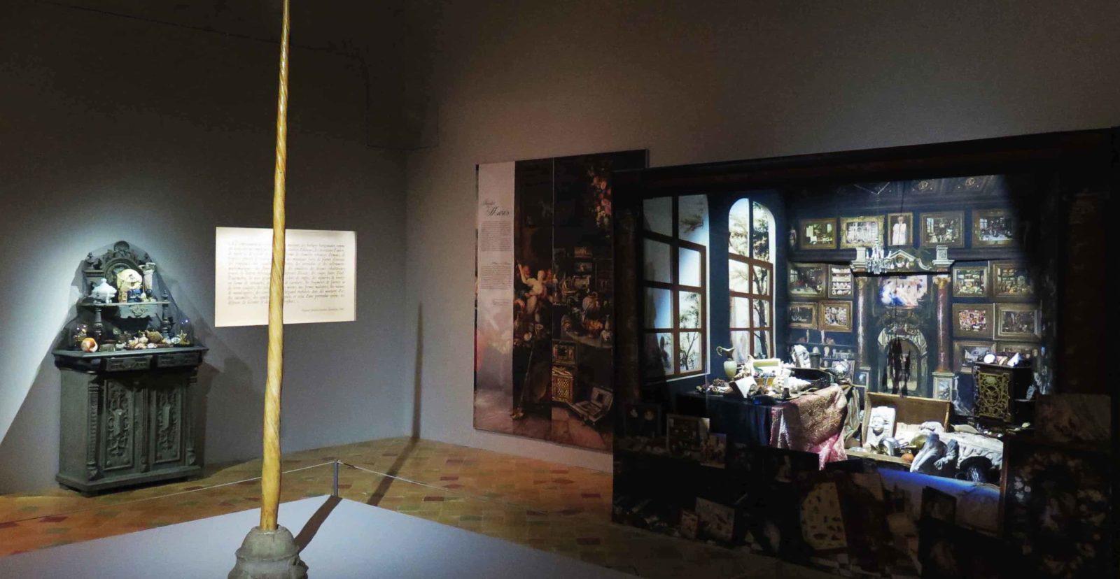 Chambres des Merveilles Château d'Angers corne de licorne