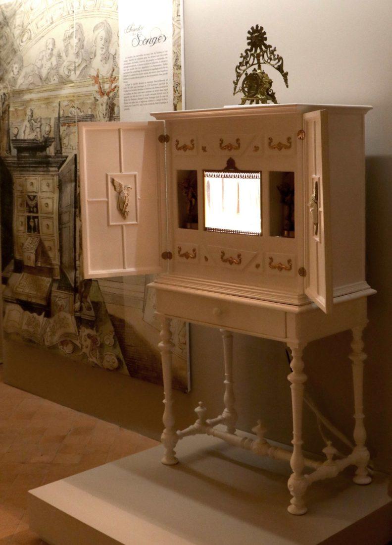 Meuble à secrets Chambres des Merveilles Château d'Angers