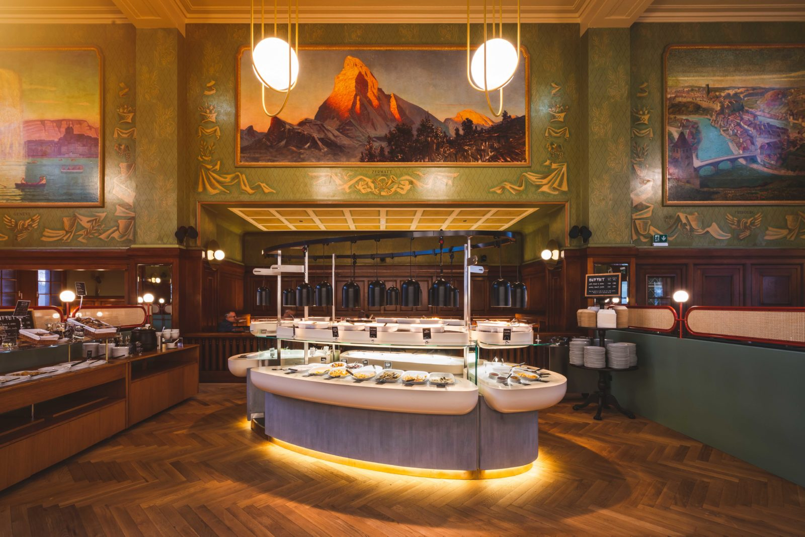 tibits buffet de la gare Lausanne buffet