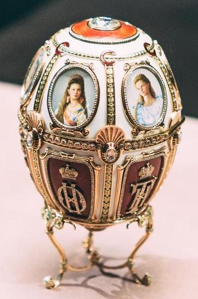 Exposition à Istra (Russie) Fabergé Oeuf impérial