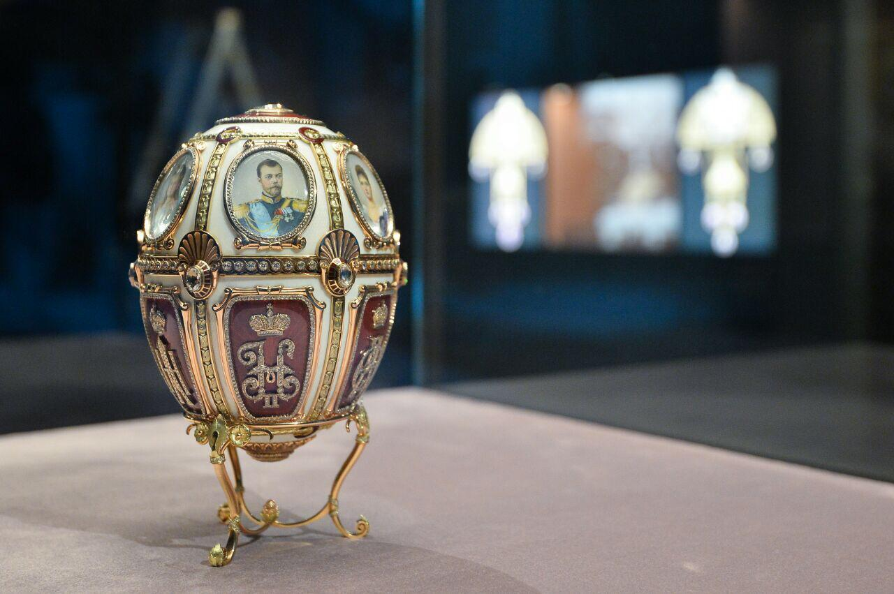 Exposition à Istra (Russie) Fabergé Oeuf de Pâques impérial