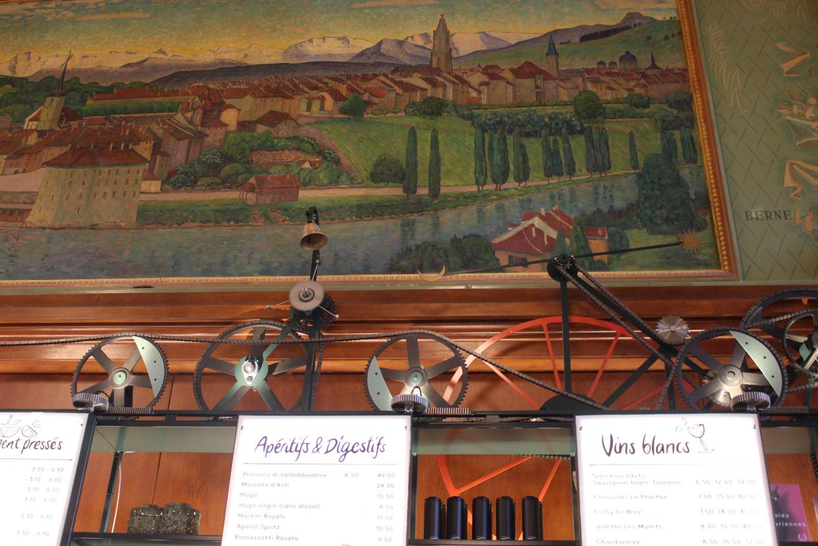 tibits buffet de la gare Lausanne bar animé