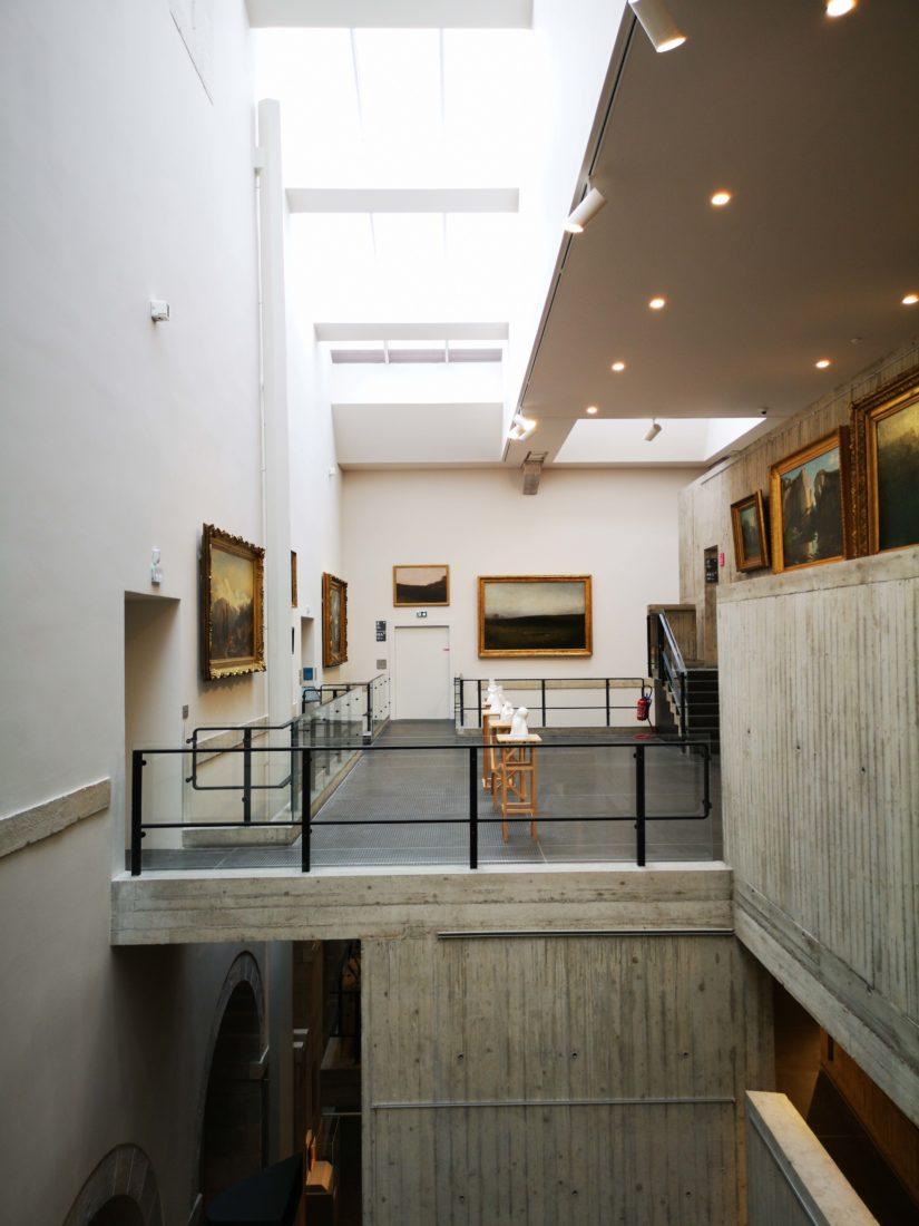 Musée beaux arts et archéologie Besançon intérieur