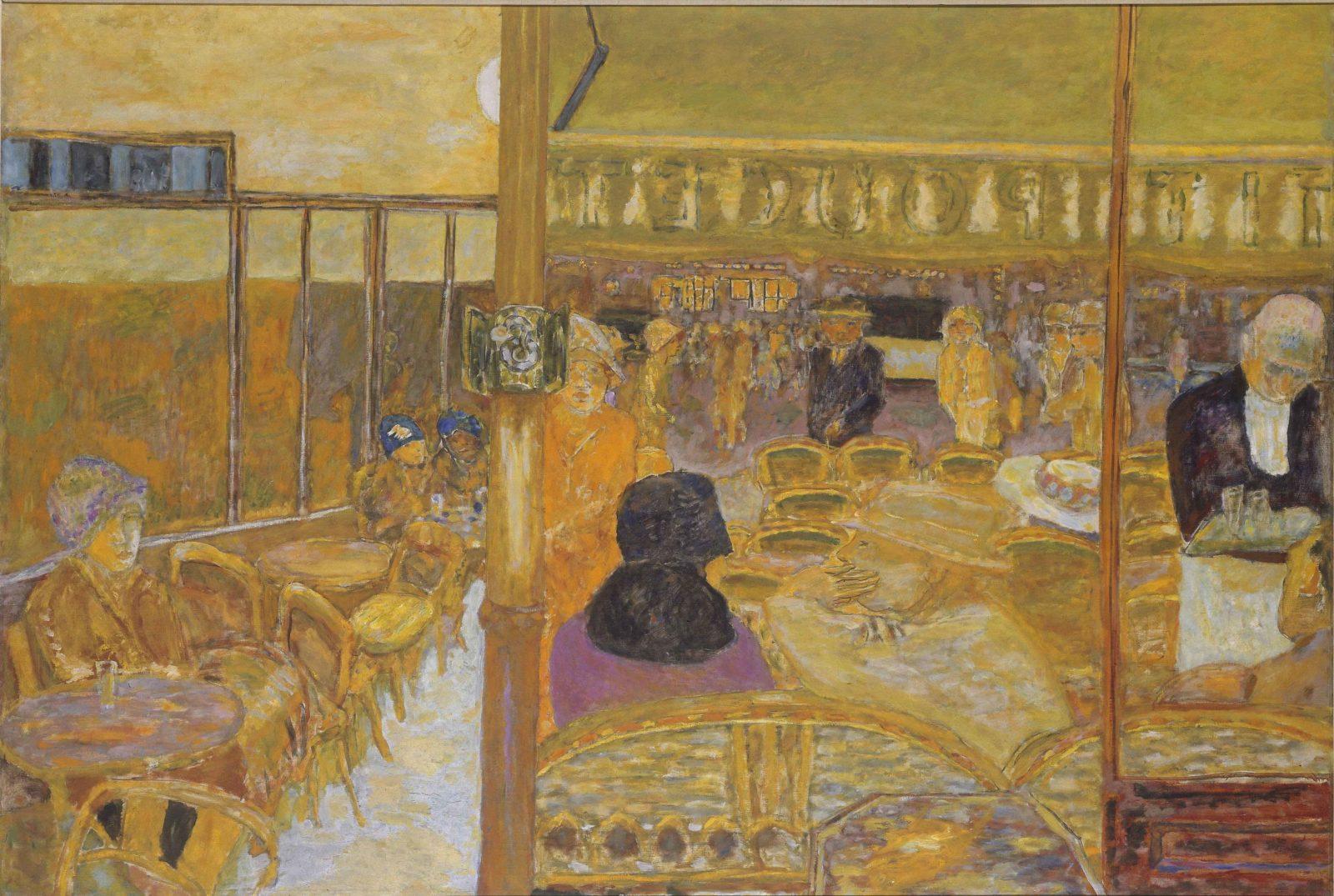 mbaa Besançon Pierre BONNARD, Le Café du petit Poucet