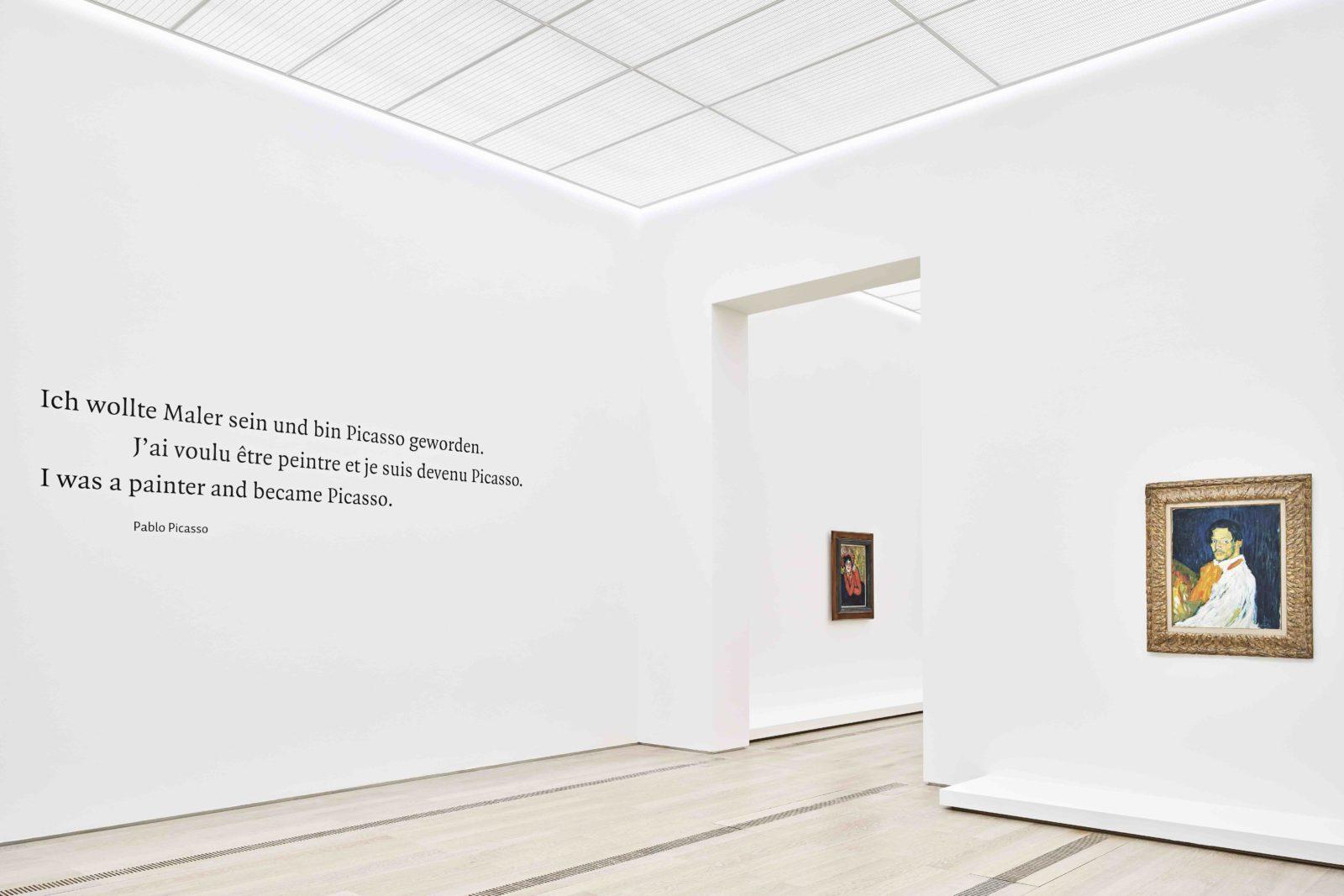 "PICASSO – Blaue und Rosa Periode"" Fondation Beyeler, Riehen/Basel"