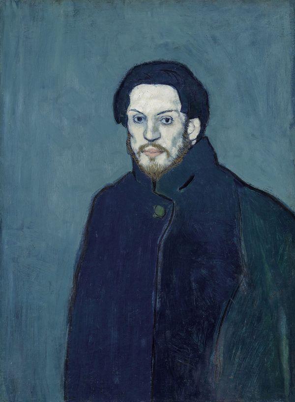 Pablo Picasso Autoportrait, 1901.