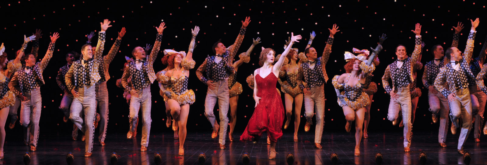 cncs Moulins comedies musicales 42nd street