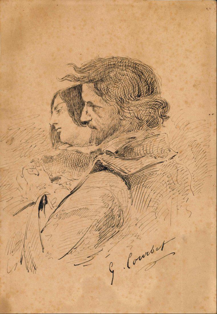 Gustave Courbet, Les Amants dans la campagne