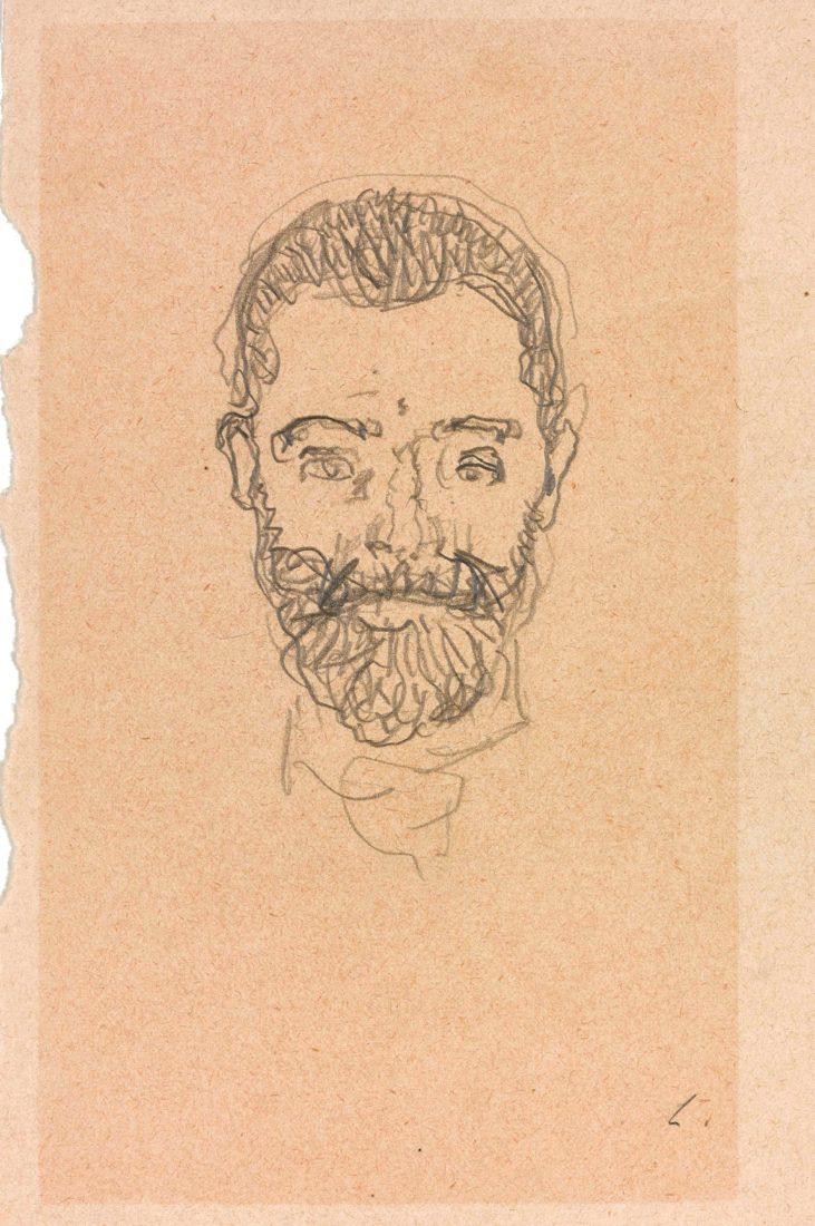 Ferdinand Hodler, Autoportrait,