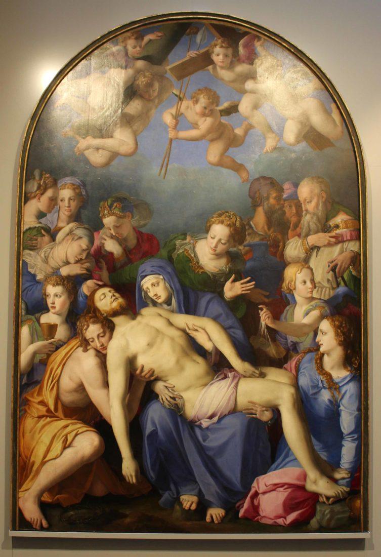 mbaa Besançon La Déploration sur le Christ mort Bronzino