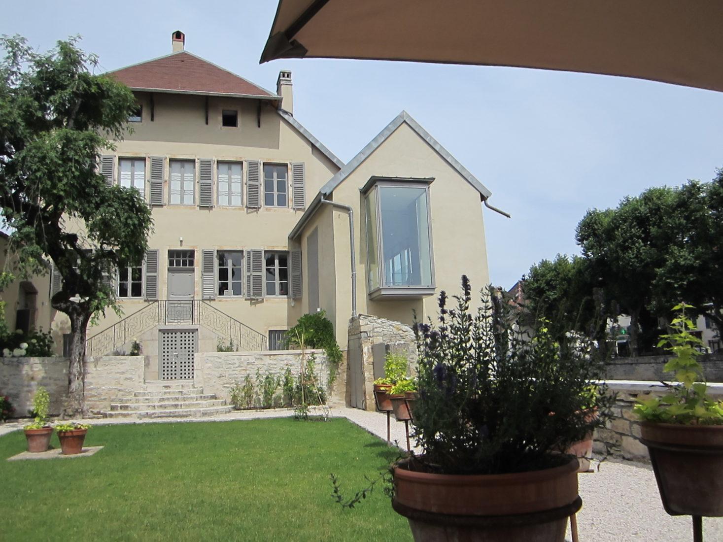 Musée Courbet Ornans et jardin