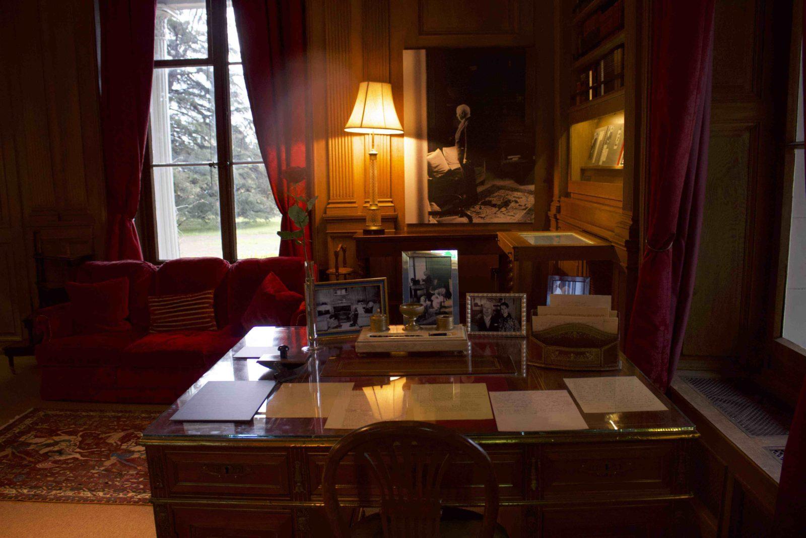 Manoir de Ban Corsier sur Vevey le bureau de Charlie Chaplin