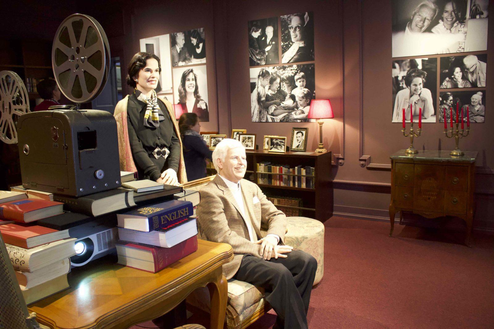 Manoir de Ban Corsier sur Vevey Oona et Charlie Chaplin