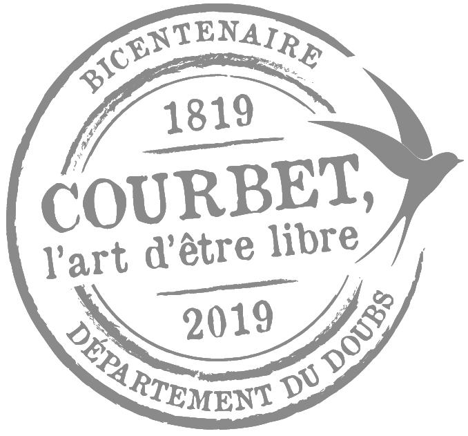 Musée Courbet Ornans logo Bicentenaire