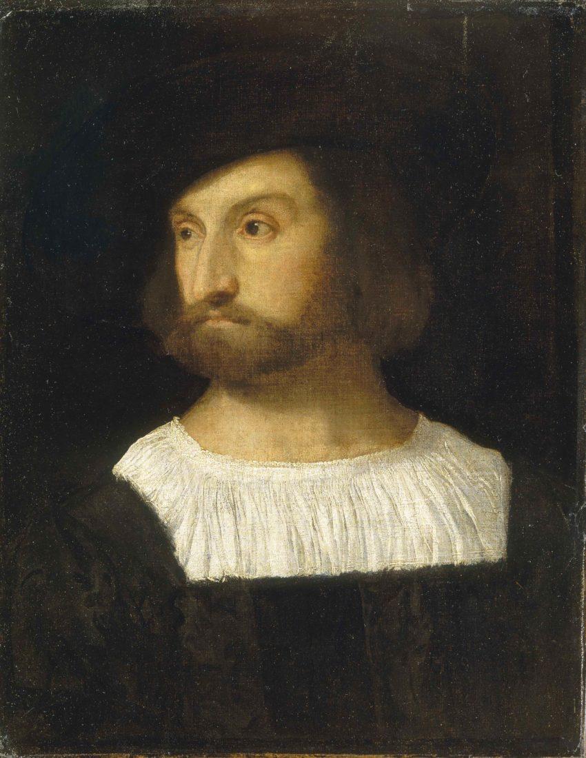 mbaa Besançon Portrait d'homme Le Titien