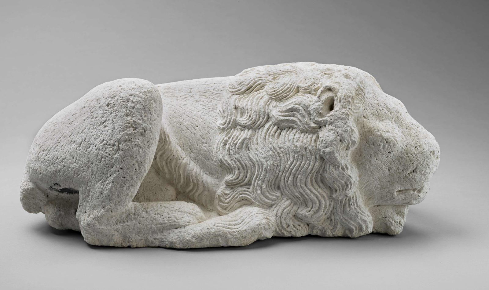 mbaa Besançon Lion couché