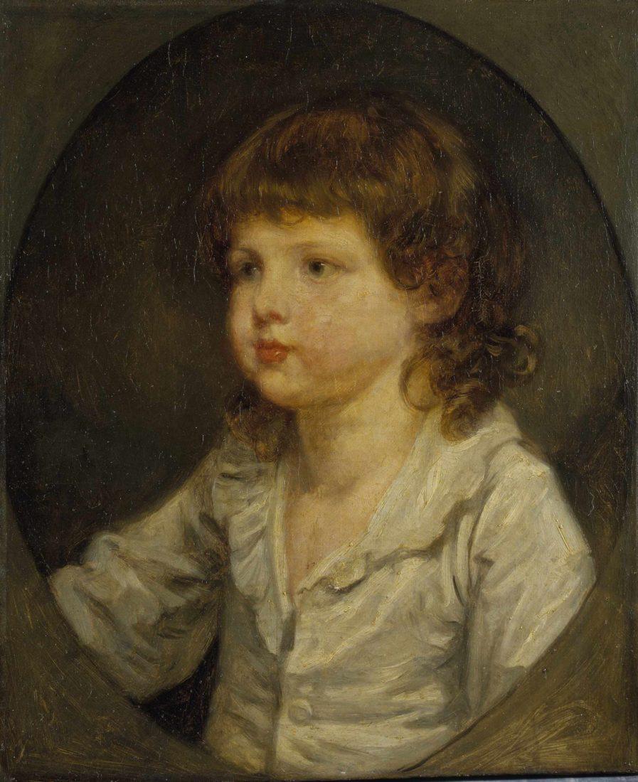 mbaa Besançon Greuze Portrait d'enfant