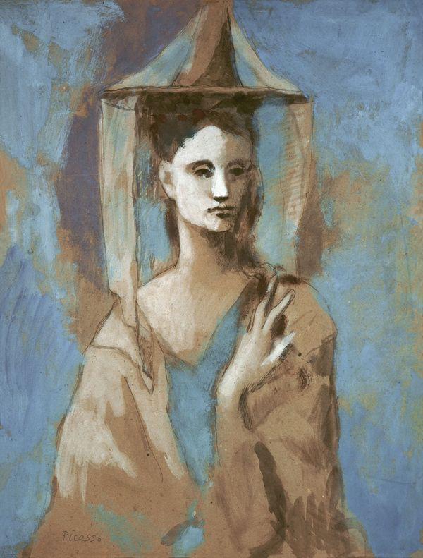 Pablo Picasso, Femme de l'île de Majorque, 1905