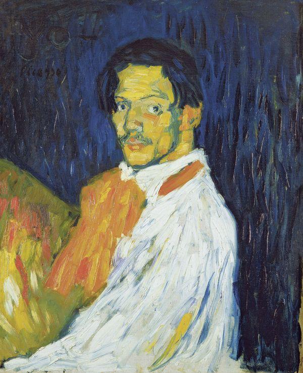 Pablo Picasso, Yo Picasso, 1901 -