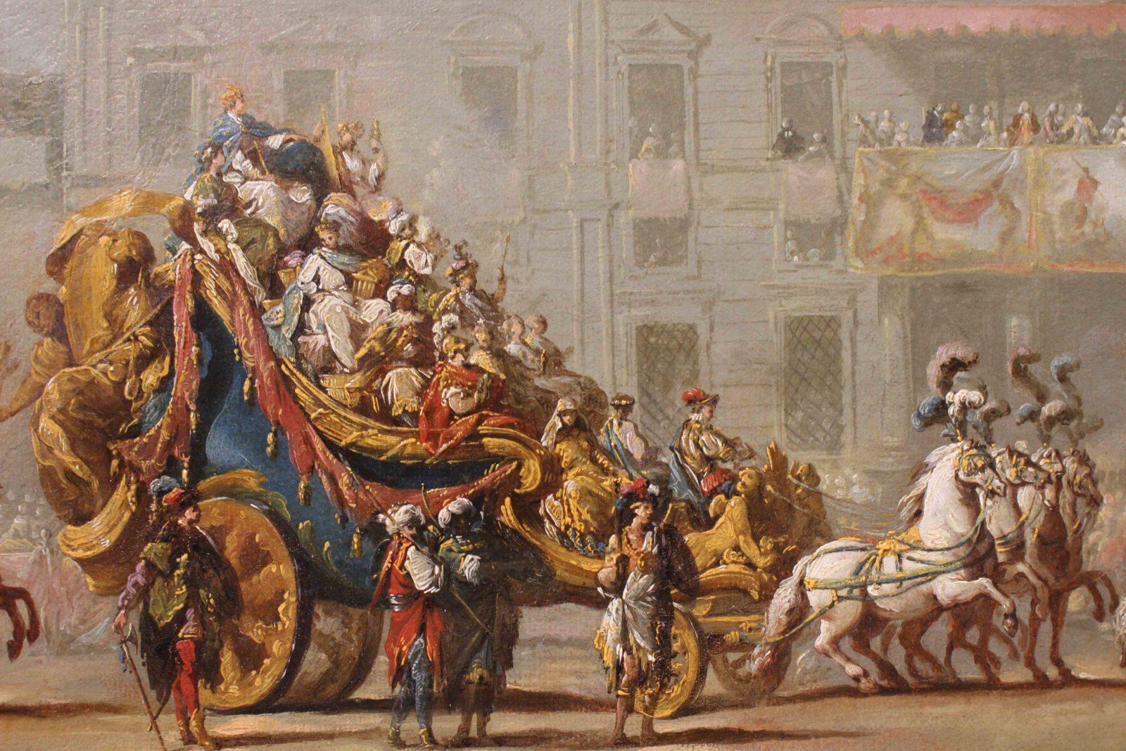 mbaa Besançon Mascarade des 4 parties du monde Jean Barbault
