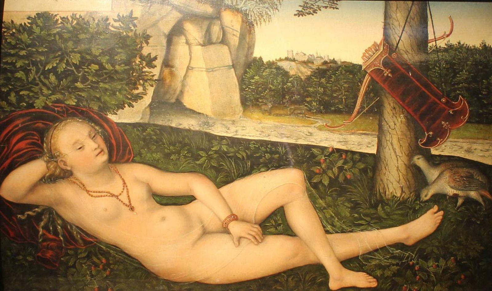 mbaa Besançon La Nymphe à la source Cranach