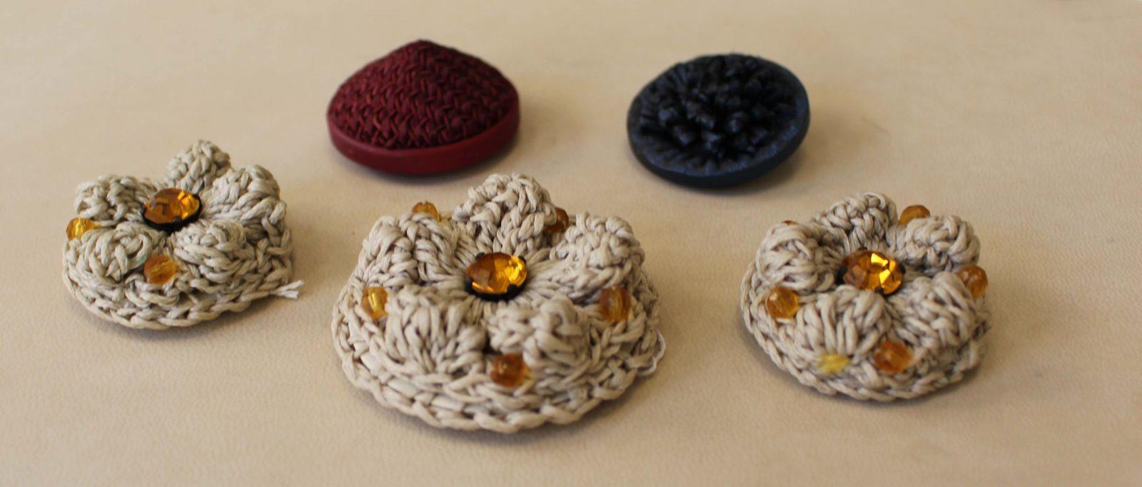 Atelier Casaquin Lausanne boutons broderie