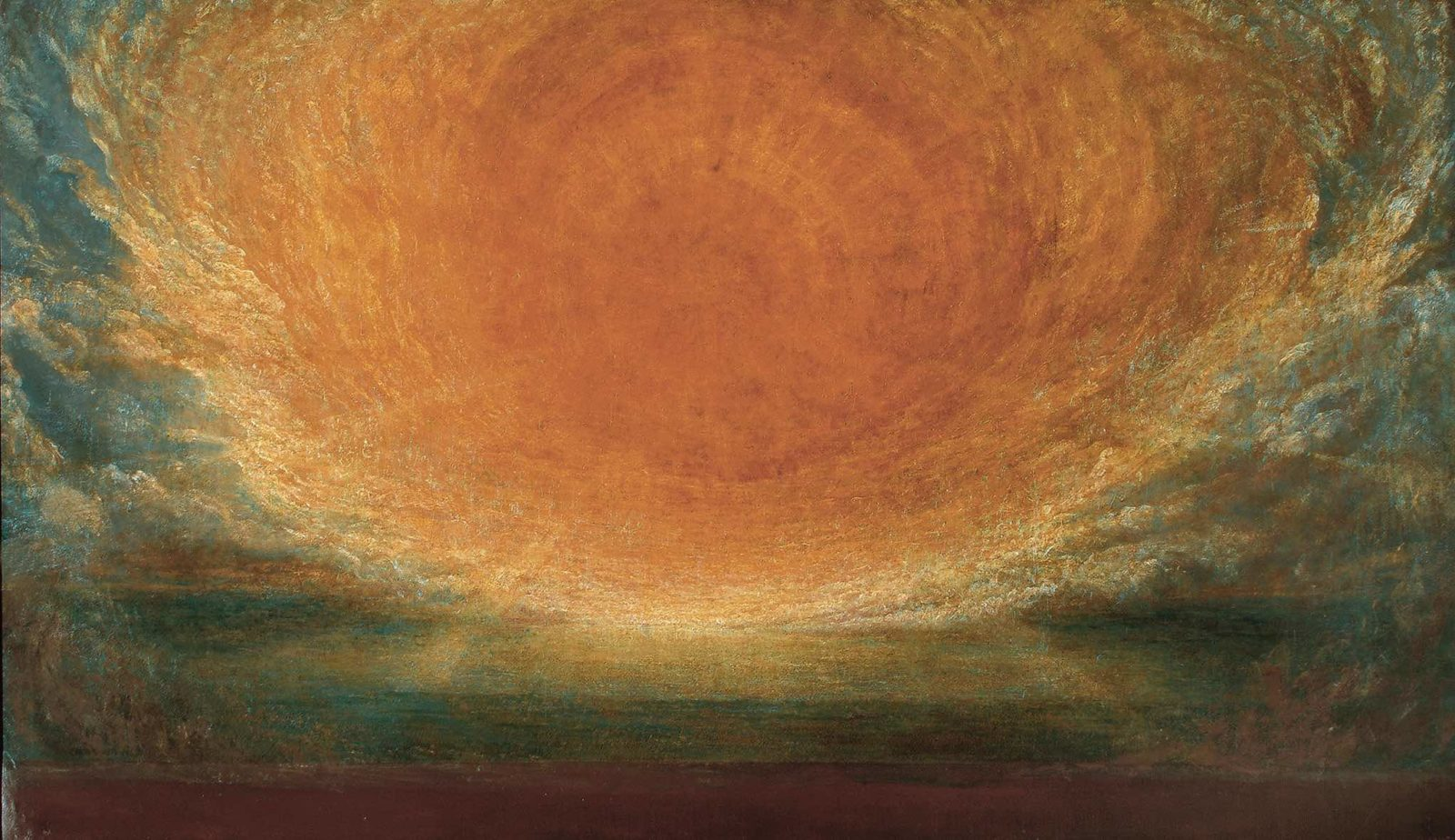 George Frederic Watts After the Deluge fondation de l'Hermitage