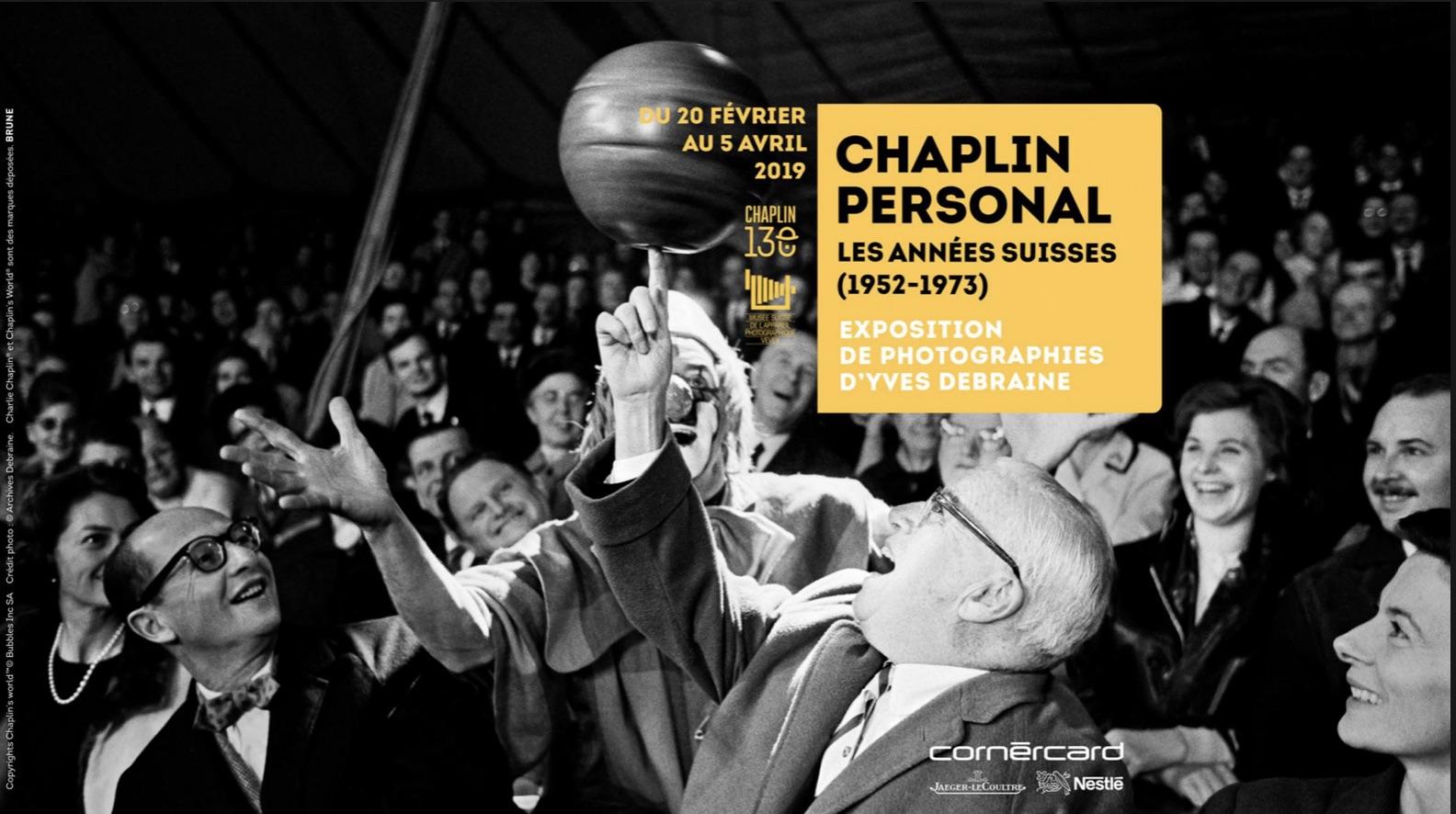 Exposition Corsier Chaplin Personal Corsier affiche