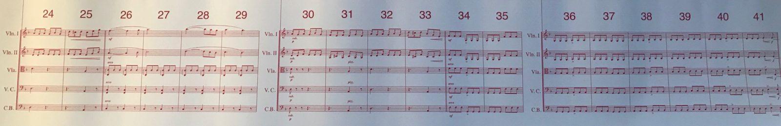 Huawei Cadogan Hall Londres Schubert 8è symphonie partition