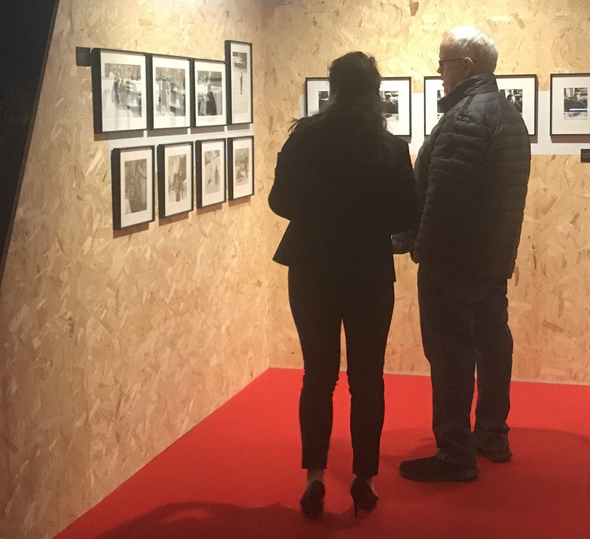 Exposition Chaplin Personal Corsier - visite d'Eugen Chaplin