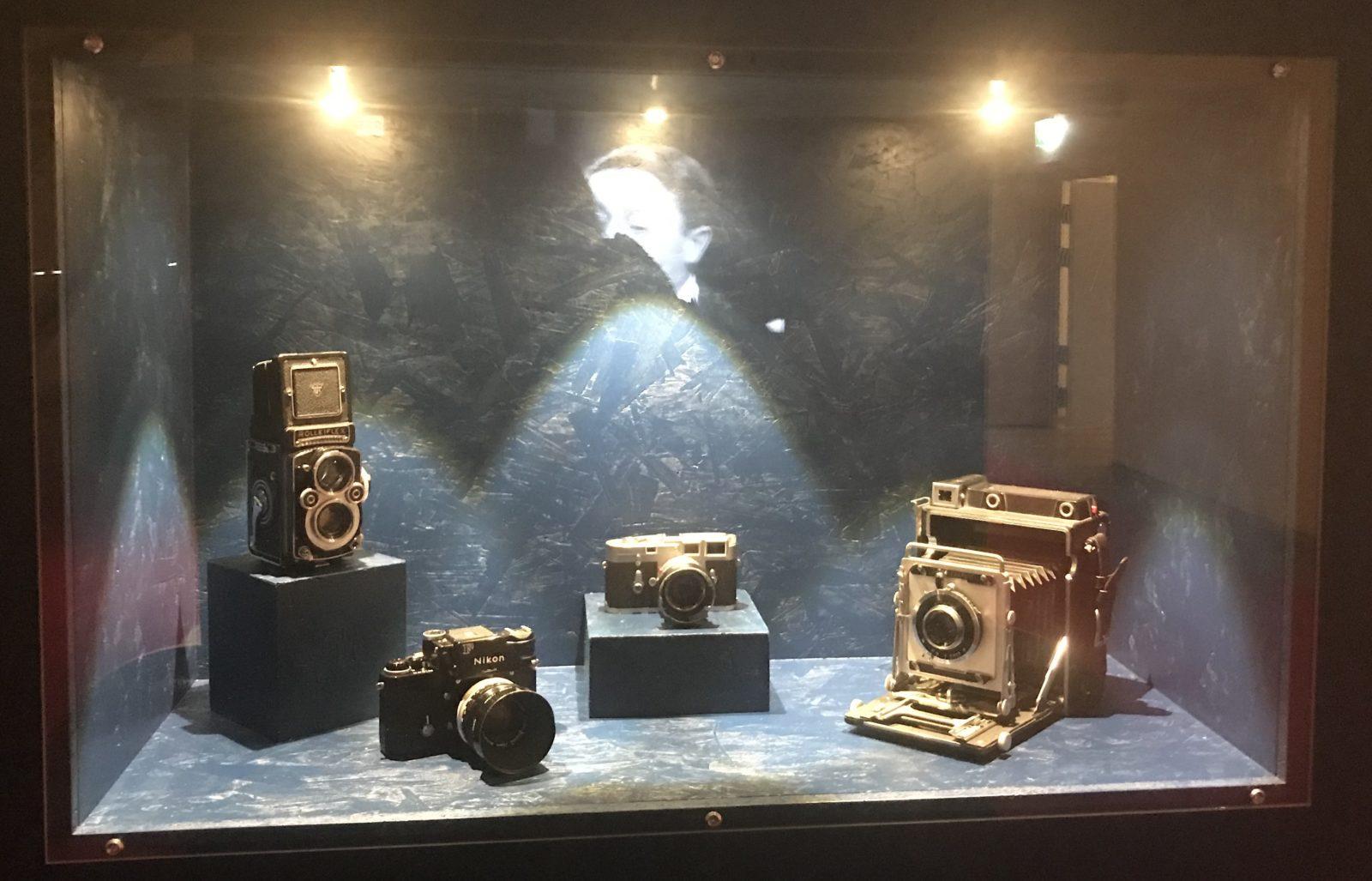 Chaplin Personal Corsier appareils photo Yves Debraine