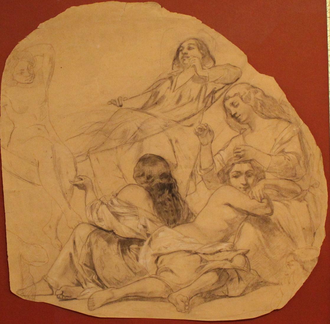 Gustave Courbet Autoportrait dans un hamac