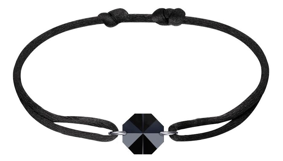 MV Vessiere Baccarat bracelet noir cristal noir