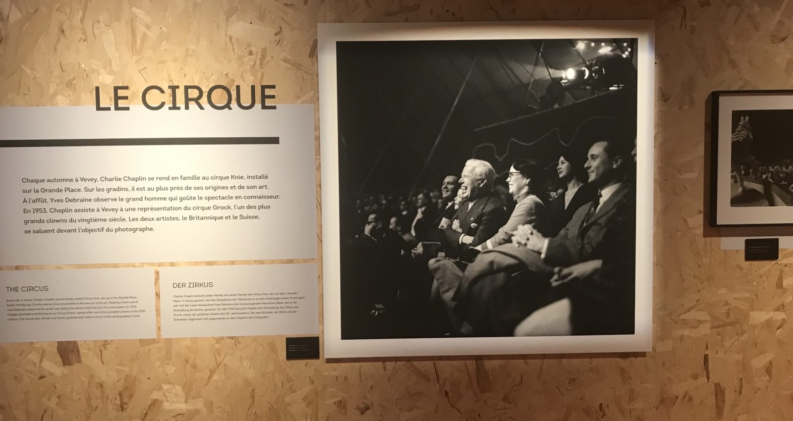 Exposition Chaplin Personal ~Yves Debraine Cirque
