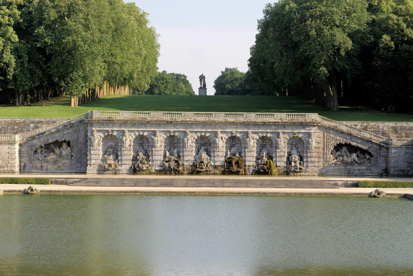 Château de Vaux-le-Vicomte 2019 jardin Fontaines