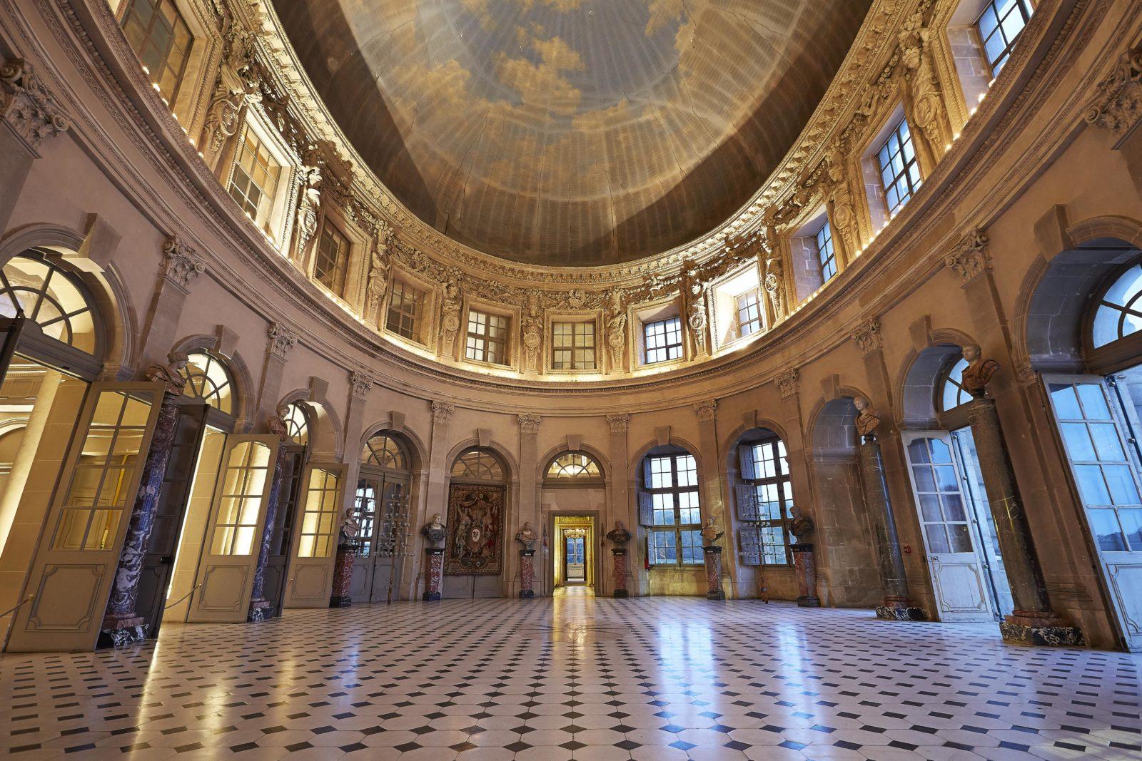 Château de Vaux-le-Vicomte Grande salle
