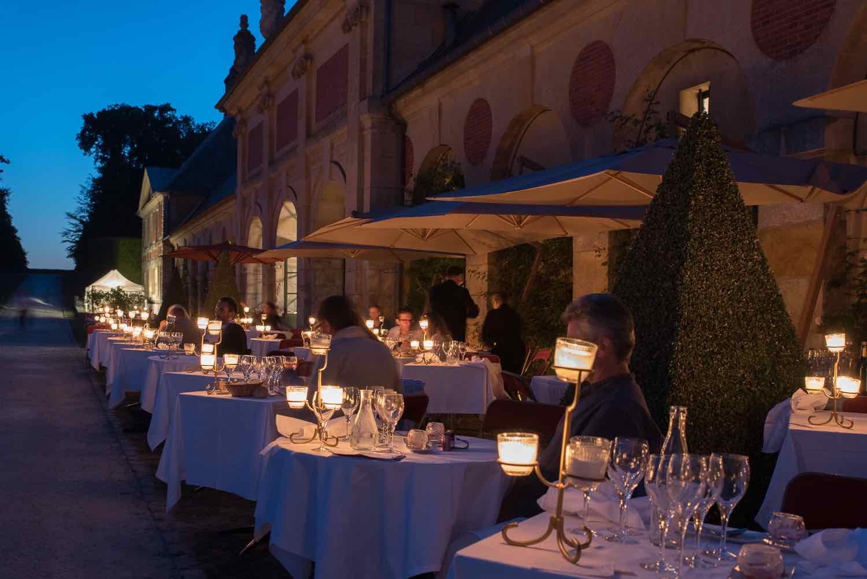 Château de Vaux-le-Vicomte 2019 repas aux Chandelles