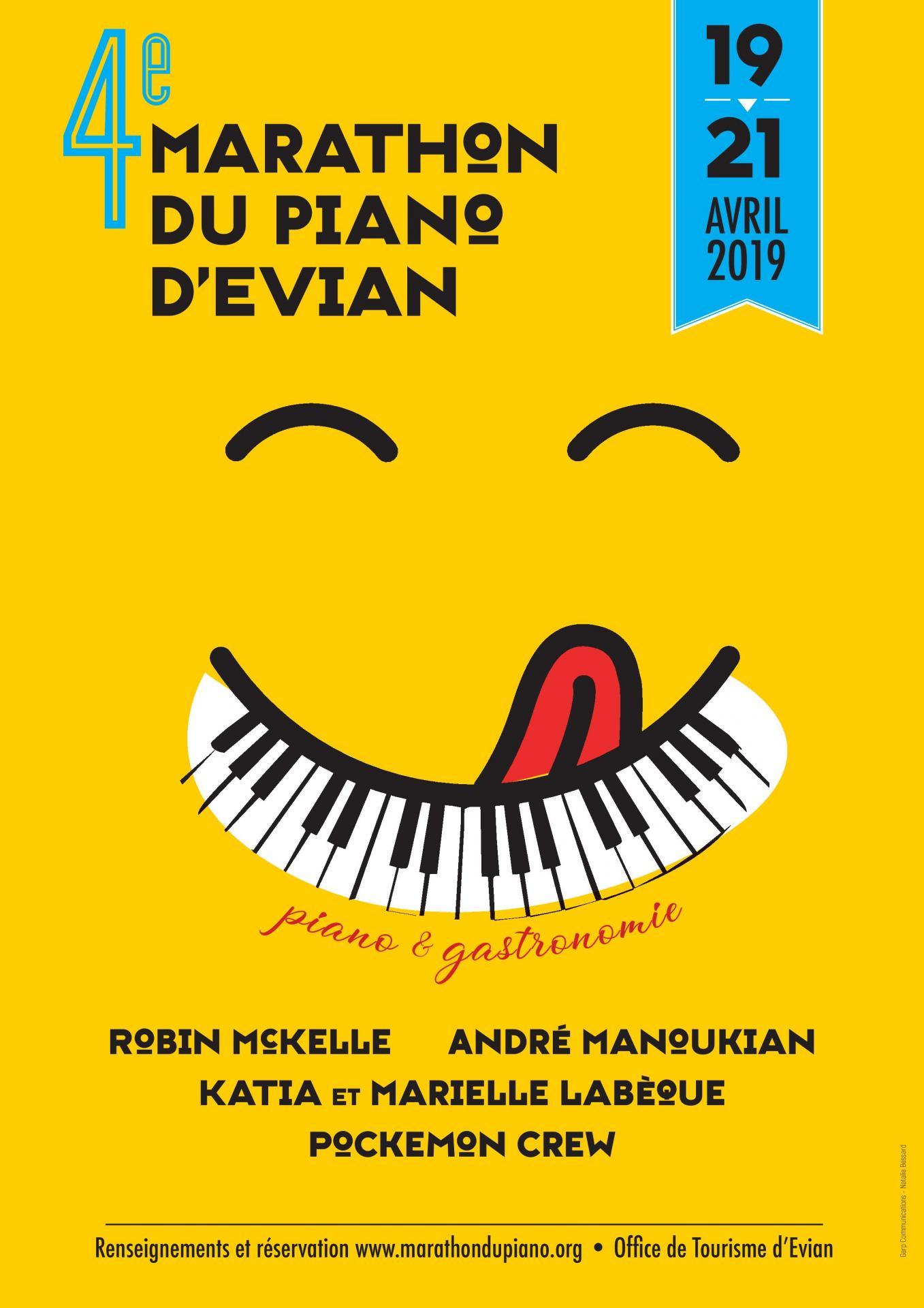 Marathon piano 2019 Evian