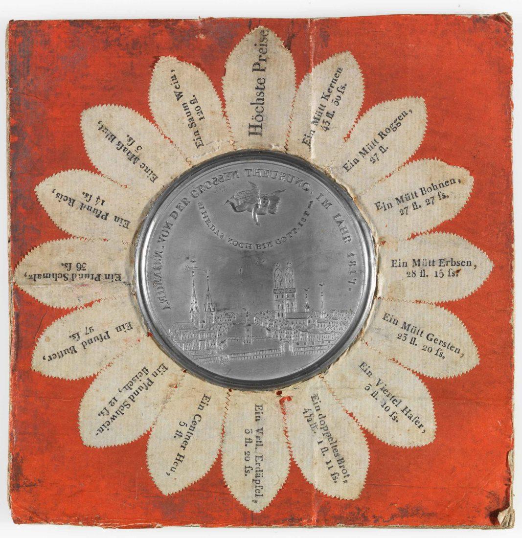 Médaille d'inflation en souvenir de la famine de 1817