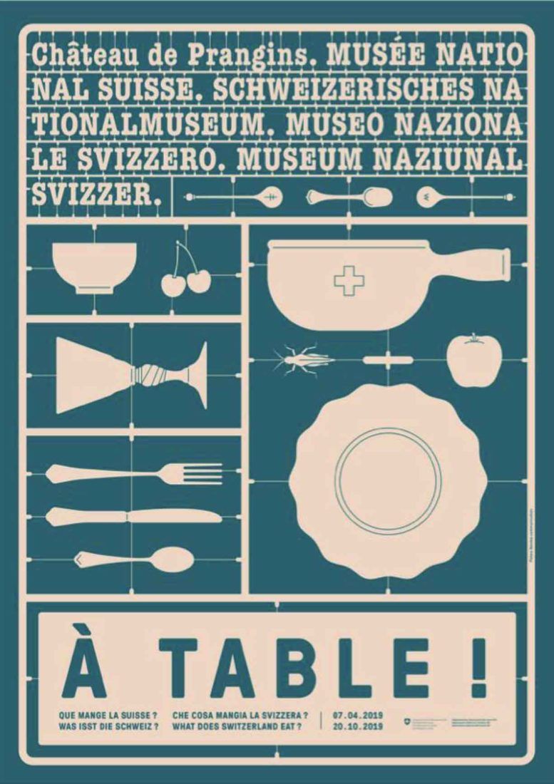Affiche A table ! Prangins