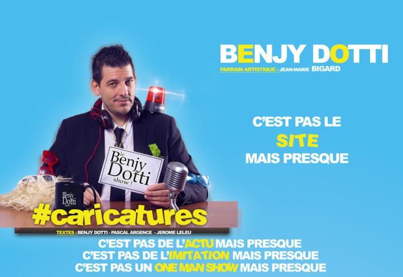 théâtre de la Colombe Lausanne Benji Dotti