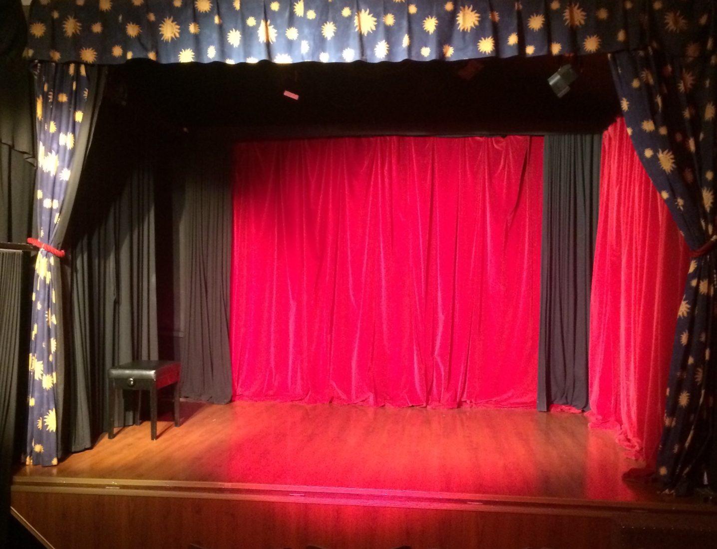 théâtre de la Colombe Lausanne Rideau