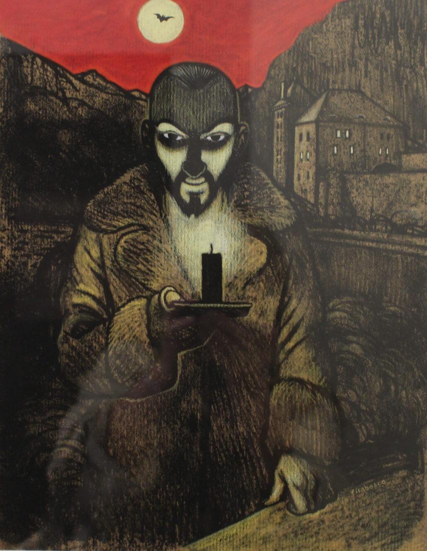 Dracula auChâteau de Saint-Maurice tom tirabosco