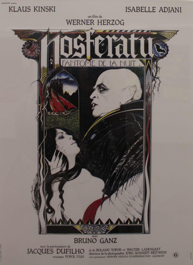 Dracula Château de Saint-Maurice affiche Nosferatu