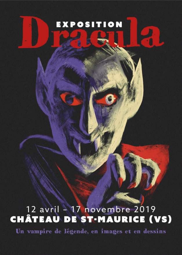 Château de Saint-Maurice affiche Dracula
