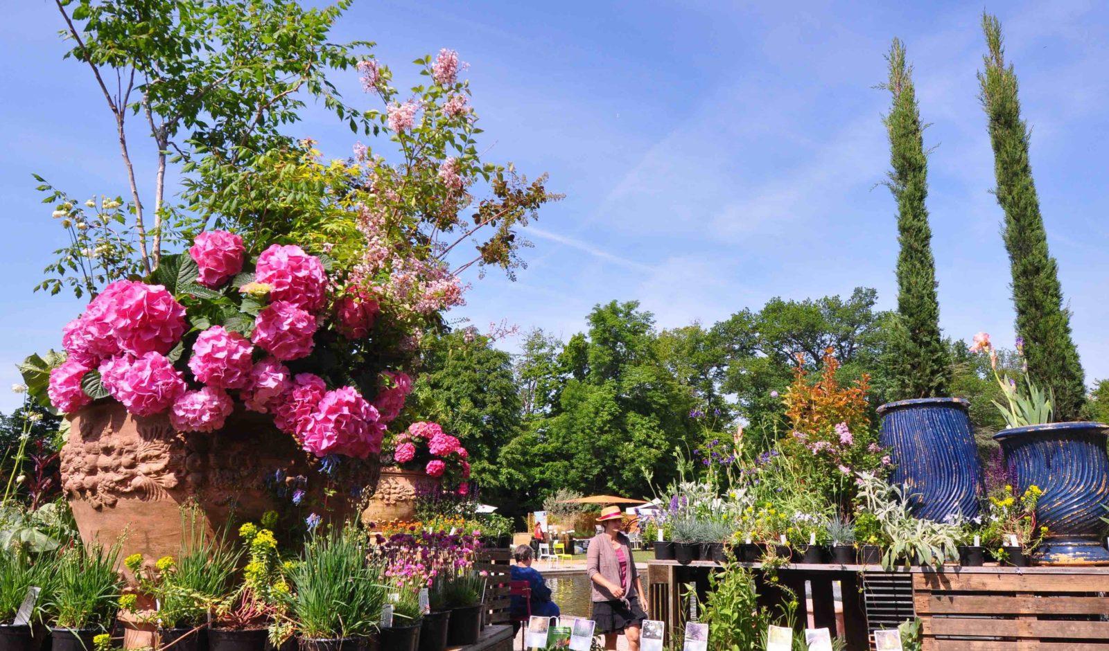 Jardins en Fête dans le parc du Château de Coppet