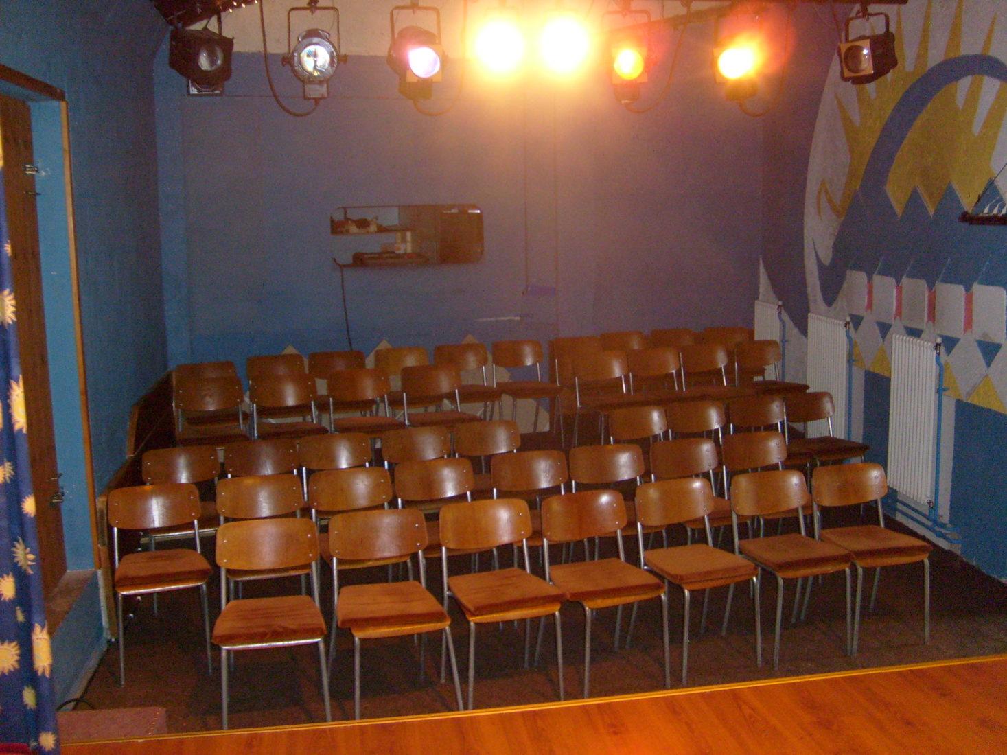 théâtre de la Colombe Lausanne la salle