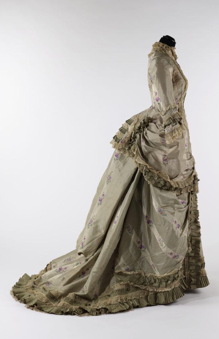 Musée historique Lausanne Robe à la polonaise